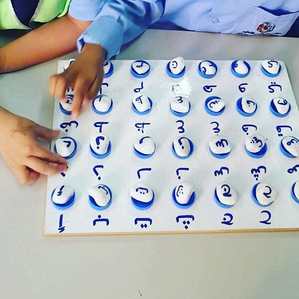 أنشطة لمادة اللغة العربية - نشاط مطابقة الحروف