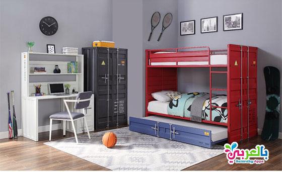 احدث غرف نوم اطفال مودرن 2020 - غرف نوم أطفال مودرن 2020