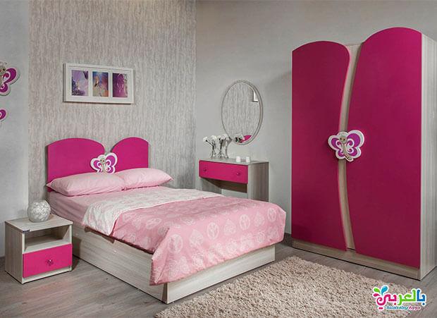 غرفه بنات ورديه