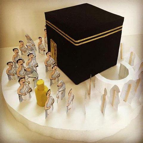 أعمال يدوية لمادة التربية الإسلامية