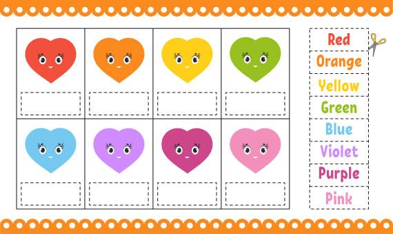 learning color games for preschool - لعبة تعليم الاطفال الألوان الانجليزية
