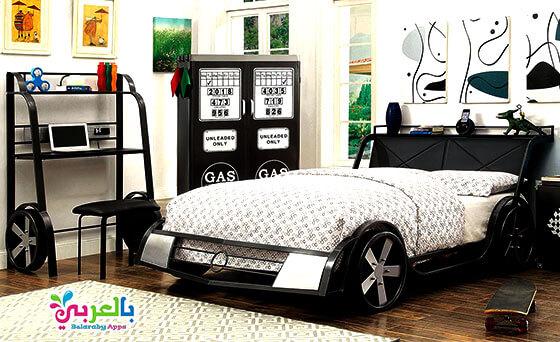 تصميم غرف نوم على شكل سيارات للأطفال 2020