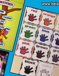 افكار لوحات للغة الانجليزية للاطفال