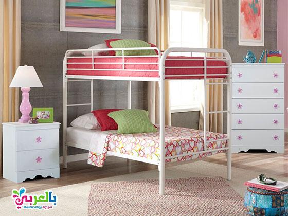 غرف نوم عصرية 2020 سرير بدورين للاطفال - غرف نوم اطفال مودرن 2020