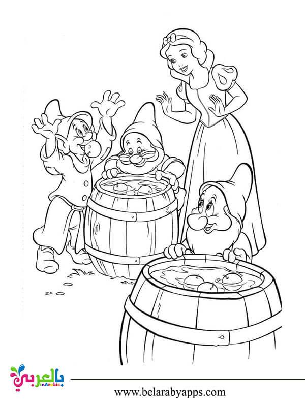 رسومات مفرغة اميرات ديزني للطباعة والتلوين