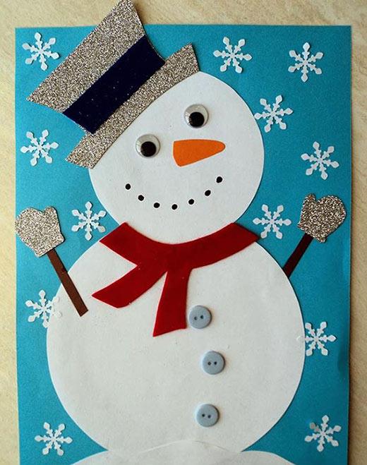 افكار كرافت لصنع رجل الثلج - أجمل 10 افكار كرافت لصنع رجل الثلج