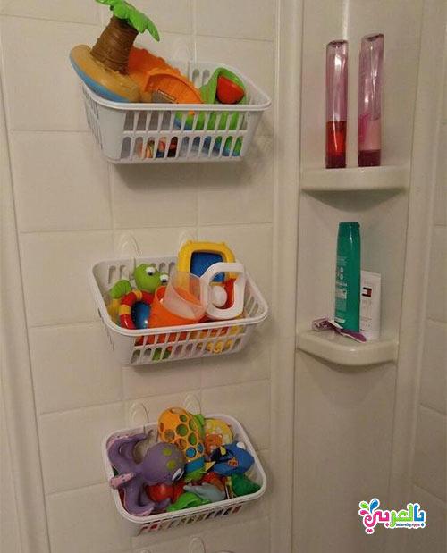 وحدات تخزين العاب - 10 افكار جديدة ترتيب غرف النوم الاطفال بالصور