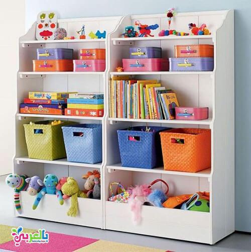 أفكار مبتكرة لترتيب الألعاب في غرف الأطفال 2020 .. بأقل تكلفة