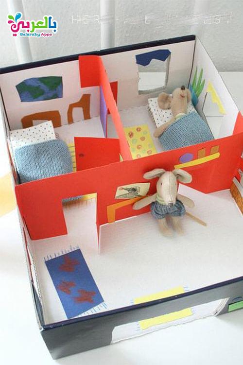 العاب اطفال 5 سنوات - صنع لعب اطفال مسلية من علب الكرتون الفارغة