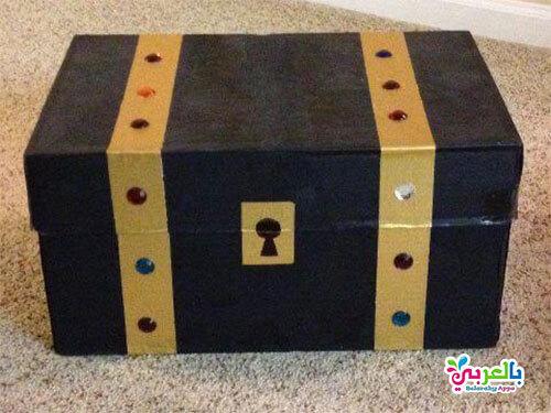 صنع خزانة للاطفال من الكرتون