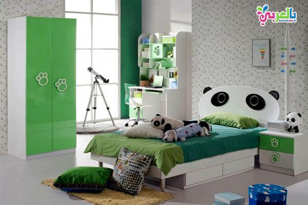 غرف نوم اطفال على شكل باندا