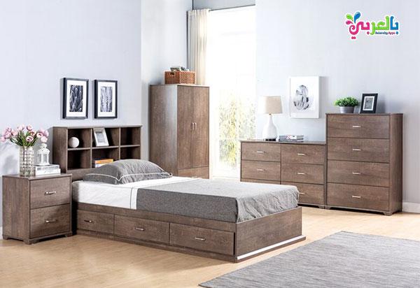غرف نوم اطفال بني 2020