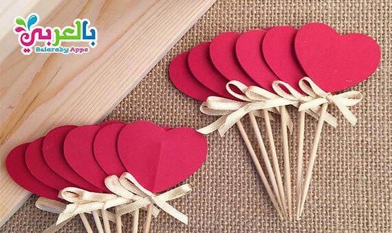 ديكور قلوب.. صنع قلوب من الورق للزينة والديكور