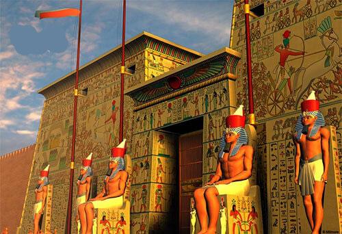 اماكن سياحية في القاهرة القرية الفرعونية
