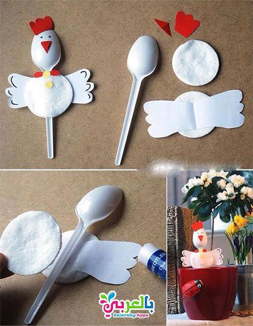 استخدامالملاعق البلاستيك