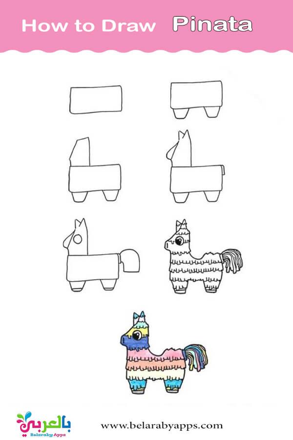 تعليم الرسم للاطفال خطوة بخطوة حيوانات
