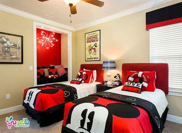 اجمل غرف نوم اطفال بتصاميم شخصيات كرتونية 2020 بالعربي نتعلم