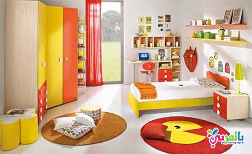 كيفية ترتيب اثاث غرفة الاطفال - أفكار مبتكرة لترتيب الألعاب في غرف الأطفال
