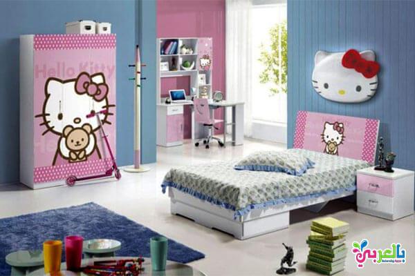 غرف نوم للبنات 2020