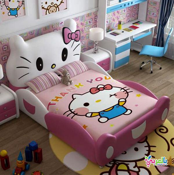 اجمل غرف نوم اطفال بتصاميم شخصيات كرتونية