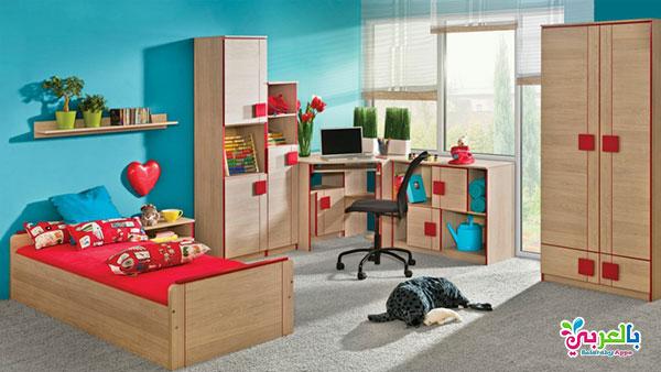 كتالوج غرف نوم اطفال خشب