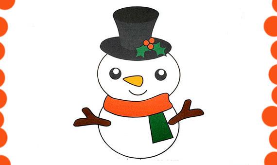 لعبة صنع رجل الثلج من الورقpdf - اشغال يدوية للاطفال