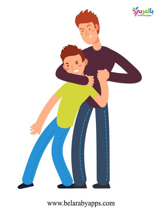 صور عن استخدام العنف مه الأطفال - رسومات لا للعنف ضد الاطفال