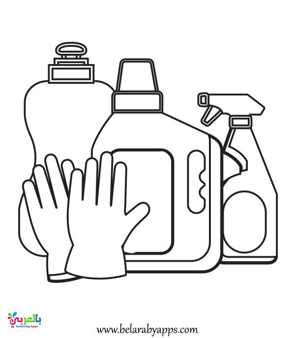 ادوات ننظيف المنزل