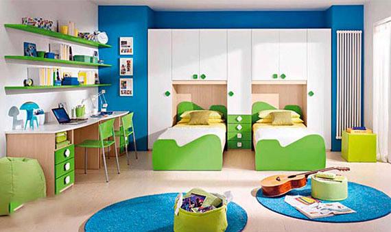 احدث غرف نوم اطفال بسريرين 2020 - كتالوج صور