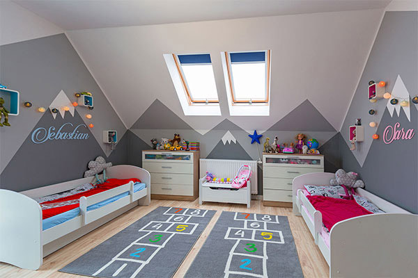 ديكورات غرف نوم اطفال 2020