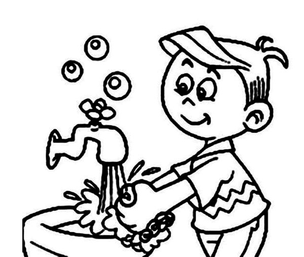 Kindergarten hand washing worksheets