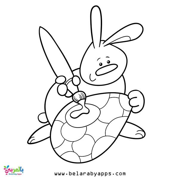 رسومات اطفال عن فصل الربيع للتلوين