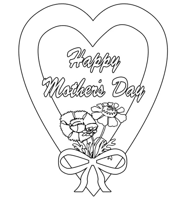 - Free Printable Mom Coloring Page Mother's Day Sheet ⋆ بالعربي نتعلم