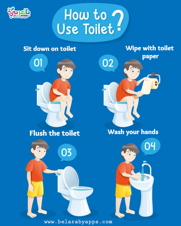 How to use toilet for kids