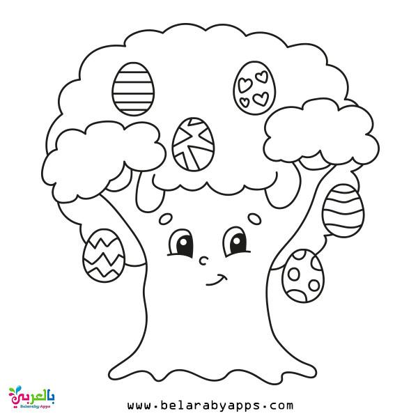 رسومات تلوين للاطفال عن فصل الربيع