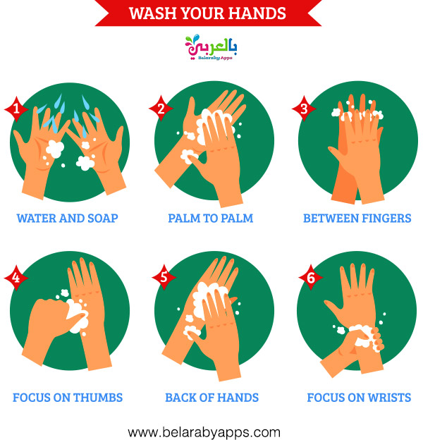 Hand hygiene for children