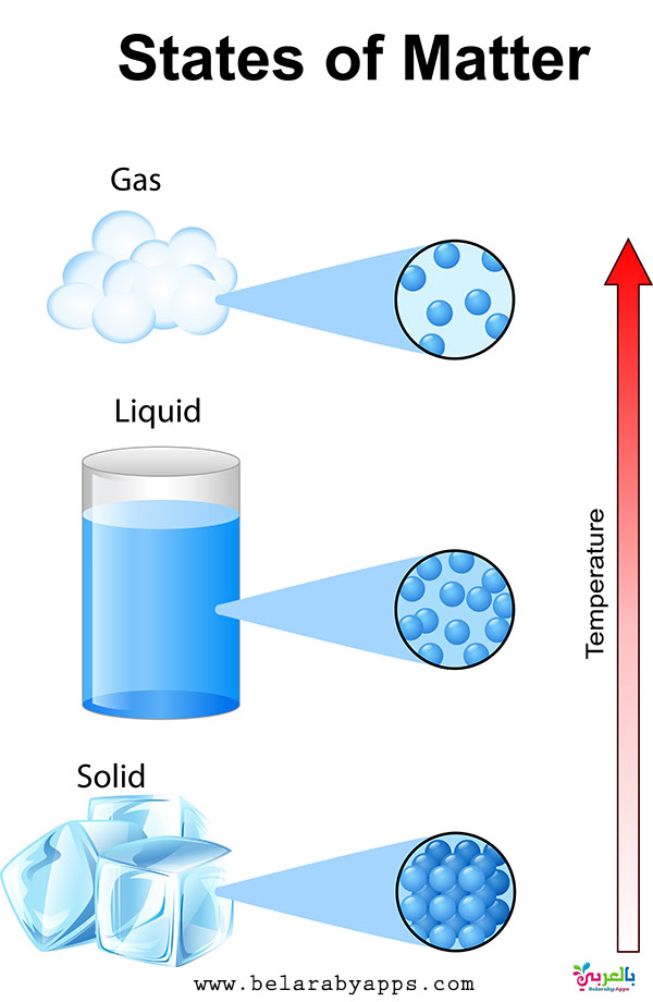Fundamentals states of matter with molecules