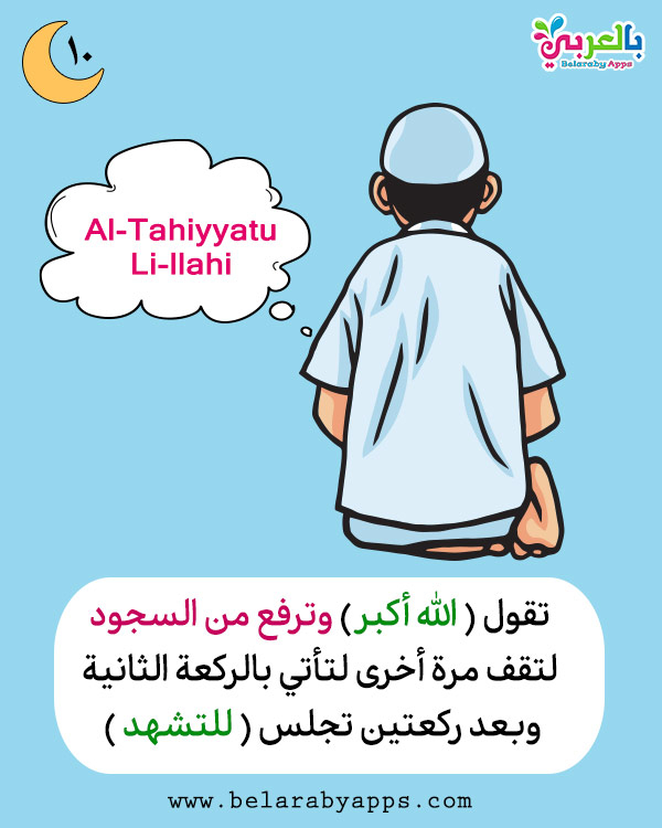Salah prayer for kids