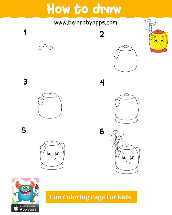 تعليم الرسم للاطفال خطوة بخطوة pdf 2020