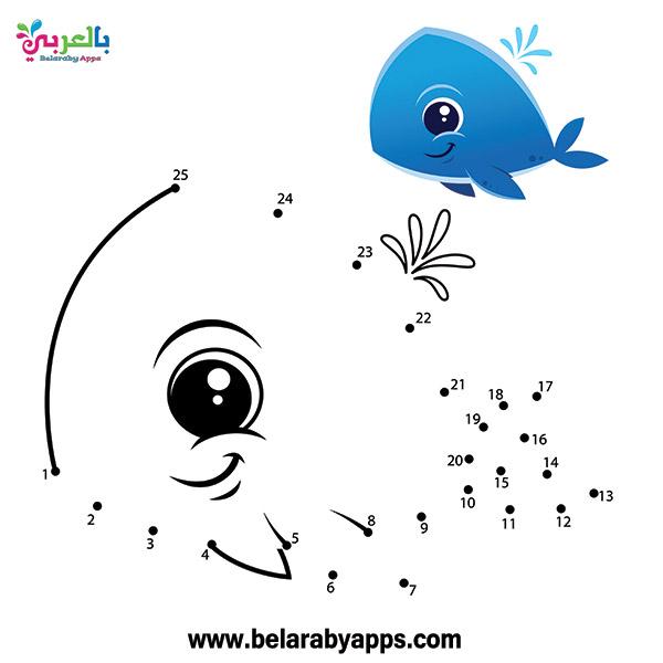 تعليم رسم الحيوانات بطريقة سهلة - connect the dots to draw animals
