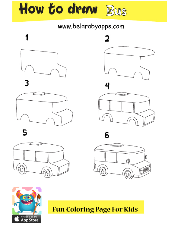 بالصور طريقة تعلم رسماتوبيس - تعلم رسم وسائل النقل والمواصلات