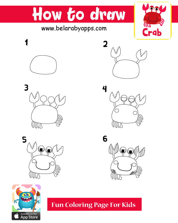 تعليم الرسم للاطفالبطريقة سهلة - رسم كابوريا