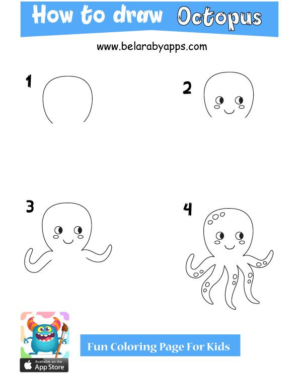 تعليم الرسم للاطفال 4 سنوات - رسماخطبوط