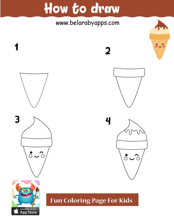 تعليم الرسم للاطفال خطوة بخطوة pdf