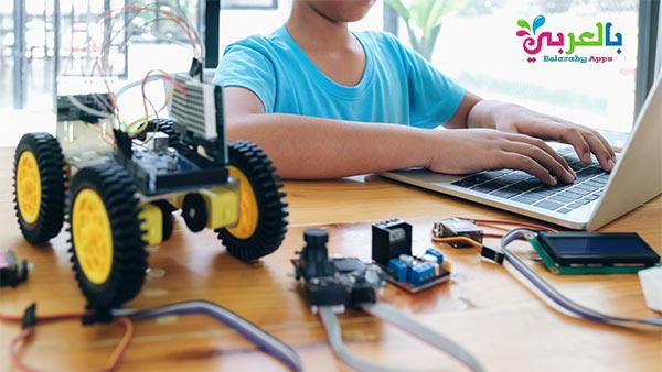 علم الروبوت – أنشطة للاطفال في المنزل