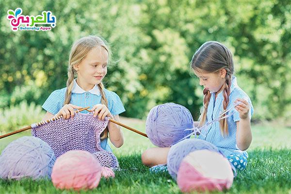 تعليم الكروشيه للبنات- أفكار للبنات لقضاء الإجازة الصيفية