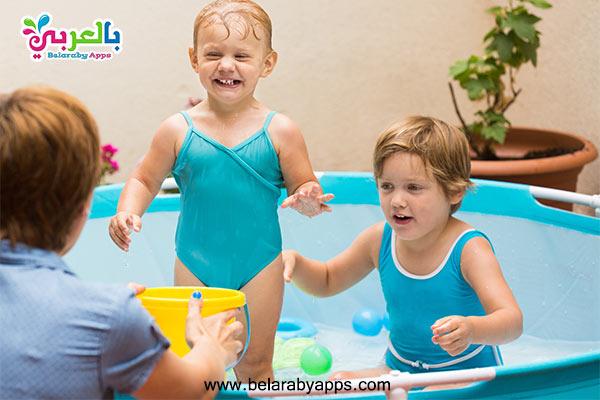 العاب حمامات سباحة للبنات والاولاد