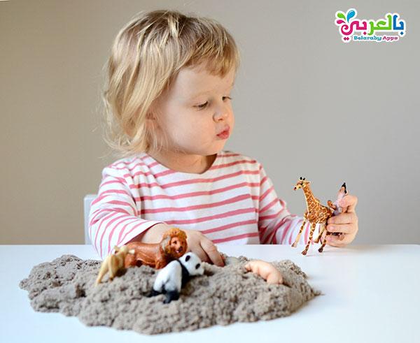 لعبة اكتشاف الحيوانات للاطفال