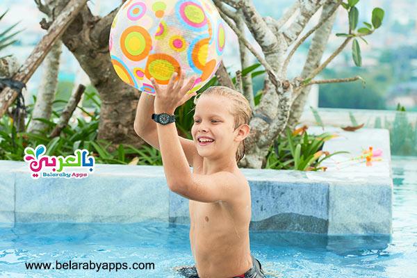 لعبة كرة الماء - العاب مائية للاطفال
