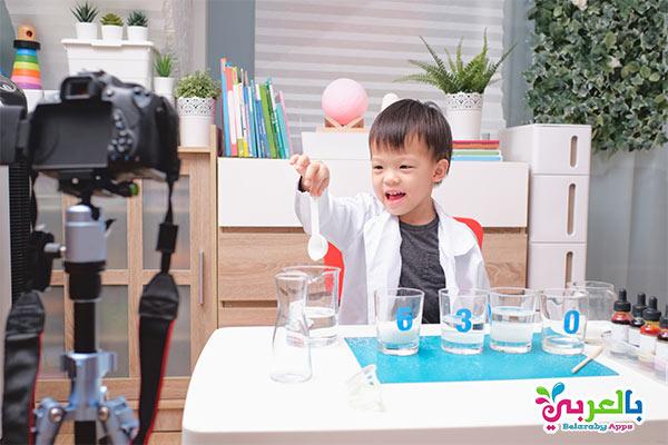 تجارب علمية للاطفال